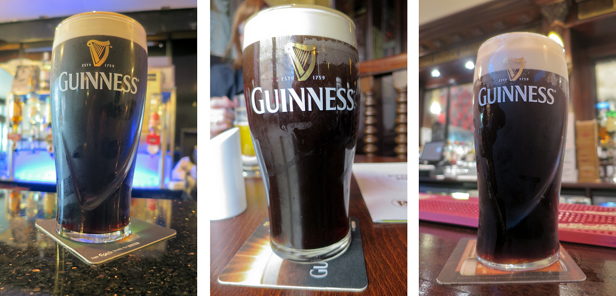 A few of the Guinness pints I might have enjoyed in Adare…
