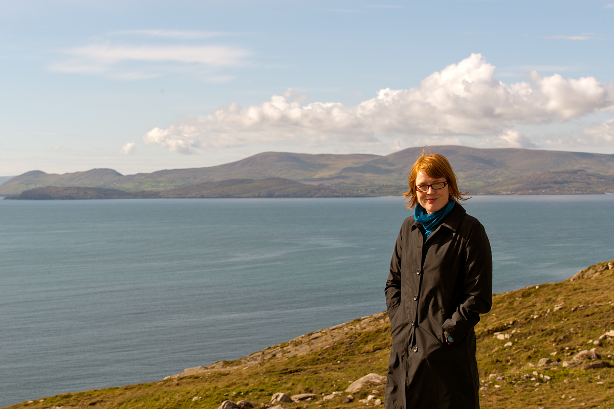 Kris on the Beara Peninsula.