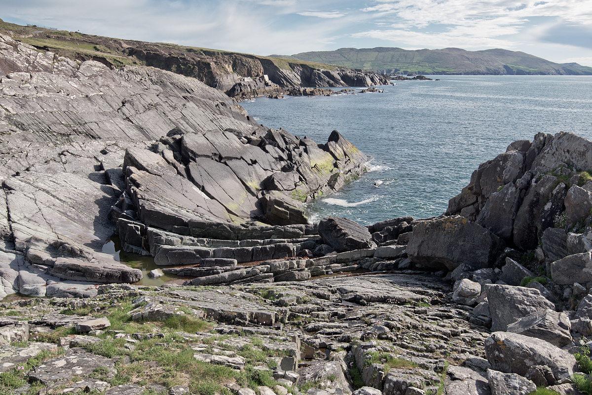 The dramatic landscape of the Beara Peninsula.
