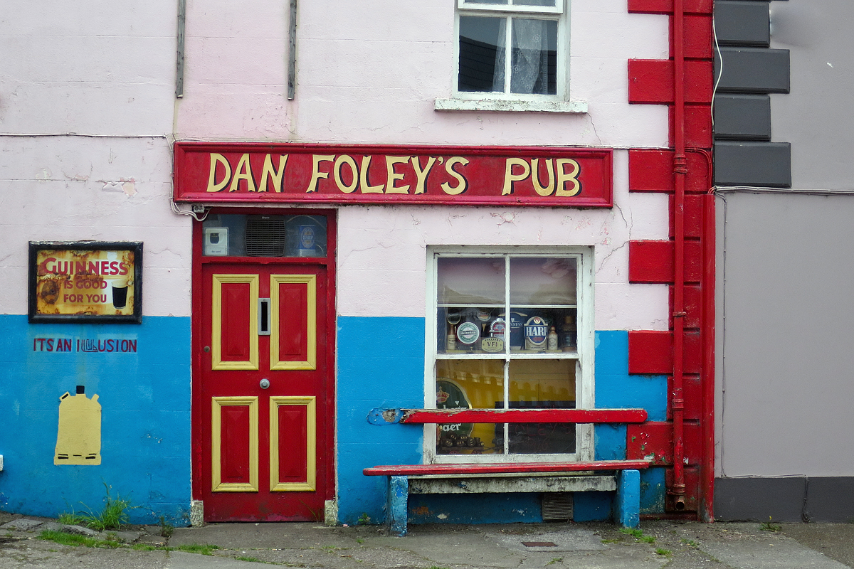 Dan Foley's in Annascaul.