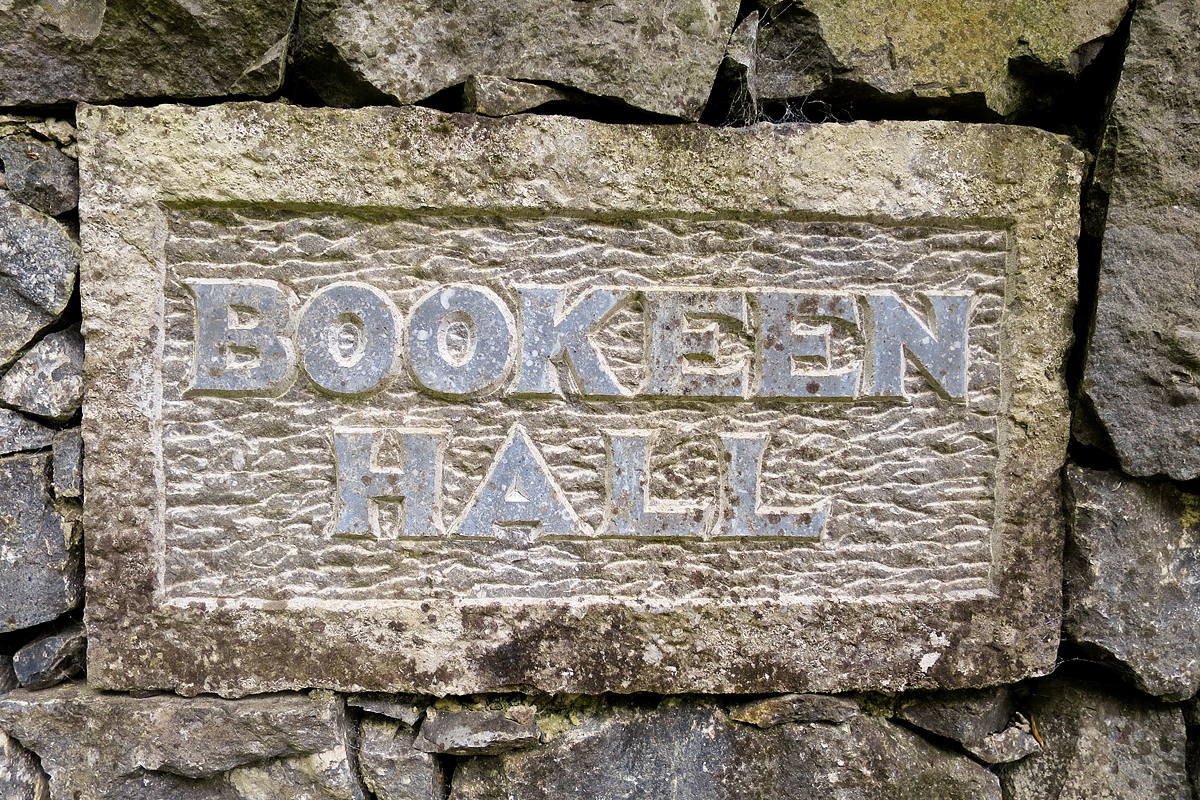After driving north for about 2-1/2 hours we arrive at Bookeen Hall.