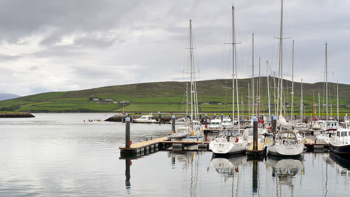 The port of Dingle…