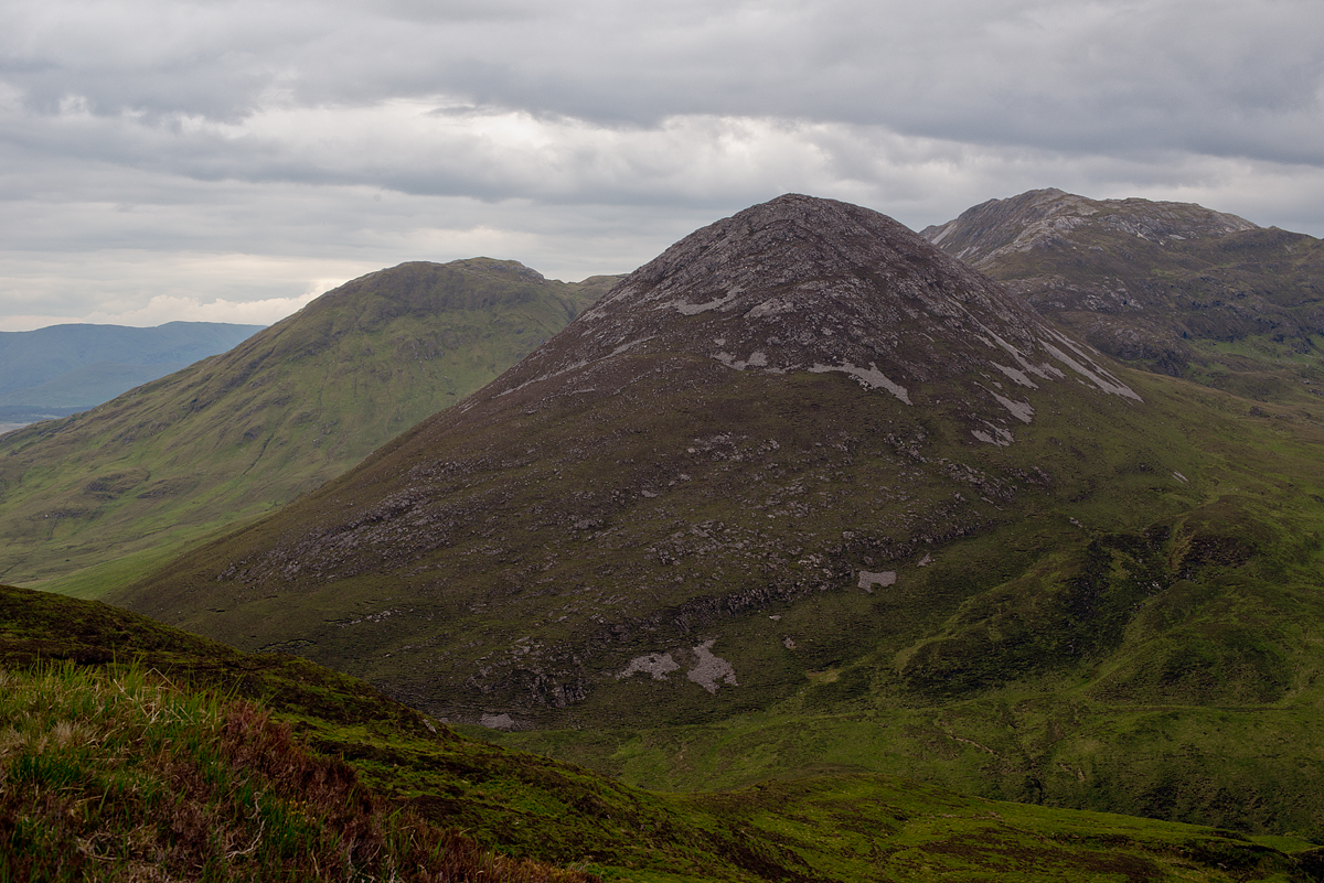 Part of the Twelve Pins mountain range in Connemara.