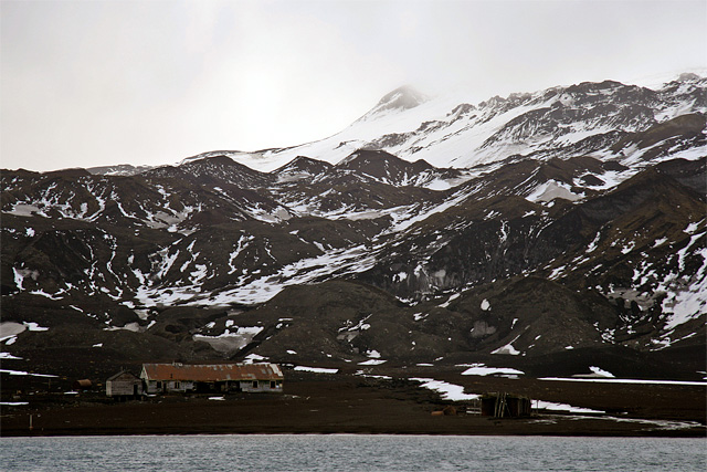 Whaler's Bay. In 1906, a Norwegian-Chilean whaling company started using Whaler's Bay as a base. The station did not actually process whale blubber, which was done on the ships, but instead took the carcasses and boiled them down to extract additional whale oil. The station was abandoned in 1931.