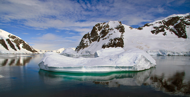 The Antarctic Peninsula, the most beautiful place I've ever seen.